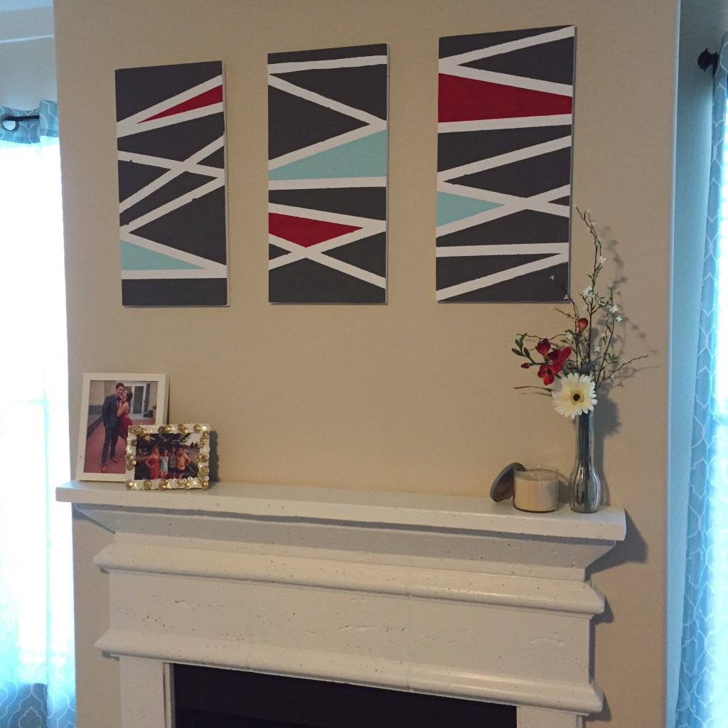 DIY for the Uncrafty--- You can even do this easy paintings for your home.