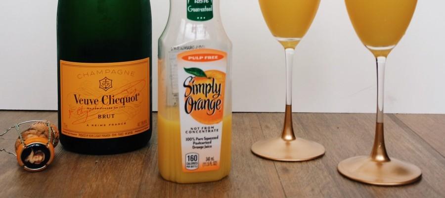 DIY Gold Champagne Glasses for Under $20