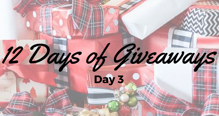 Day 3 – 12 Days of Giveaways