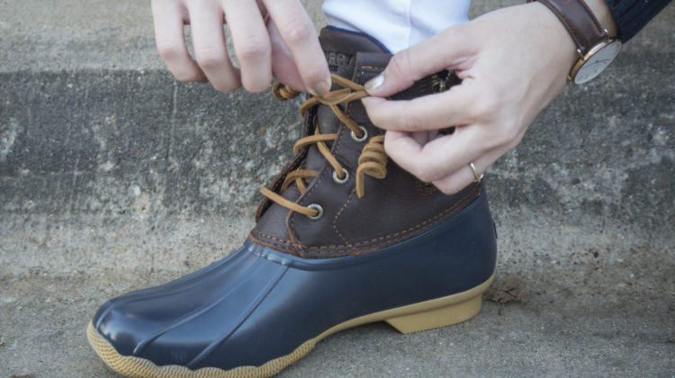 How To Tie Duck Boot Laces