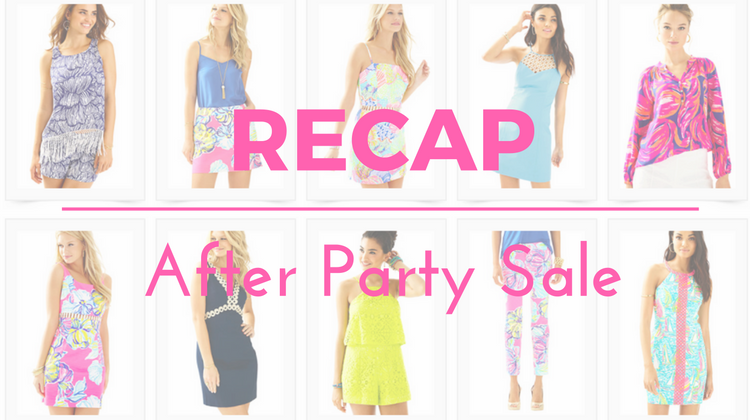 RECAP: Lilly Pulitzer Jan 2017