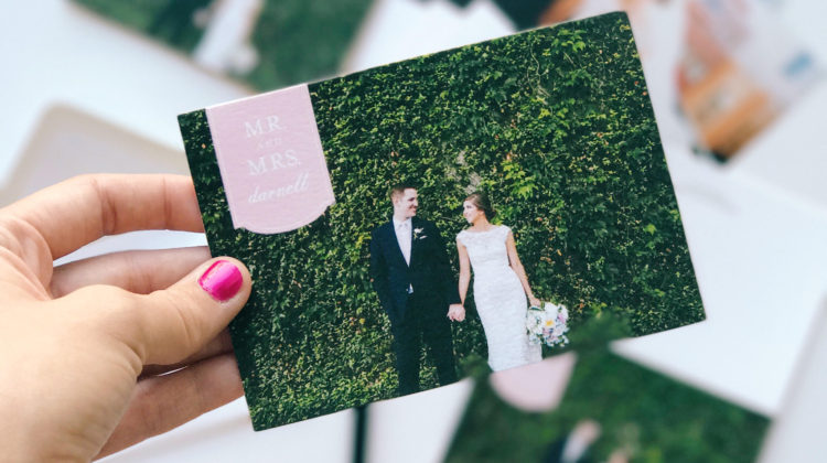 Everything You Need To Know About Wedding Thank You Cards