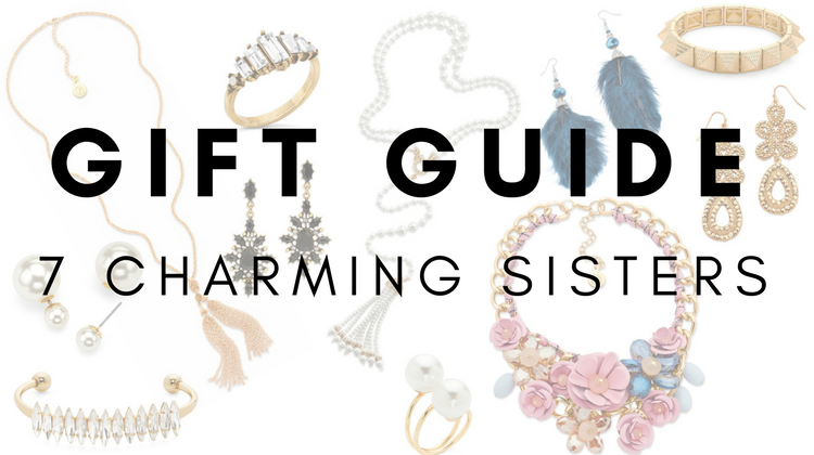 Gift Guide for the Jewelry Lover with 7 Charming Sisters