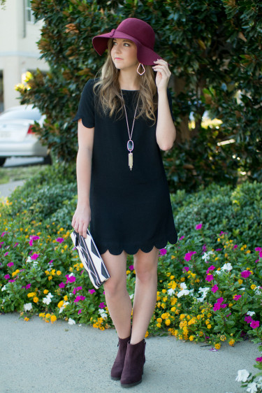 How To Style A Little Black Dress With A Pop Of Color