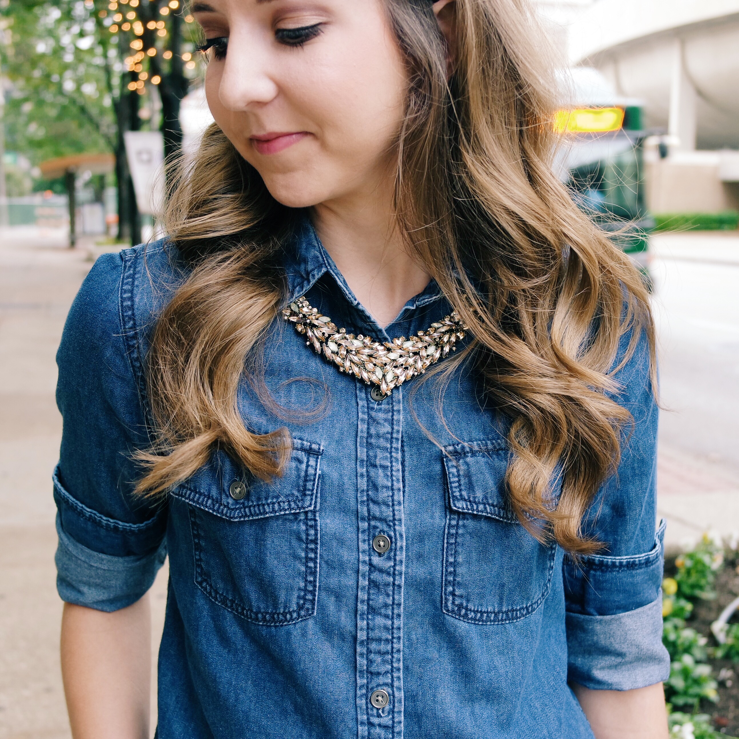 Fall Sparkles with Statement Necklaces