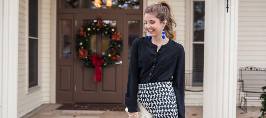 Holiday Party Attire with Shabby Apple