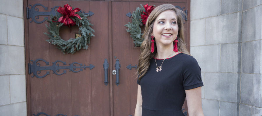 Color Block for Christmas with Duffield Lane