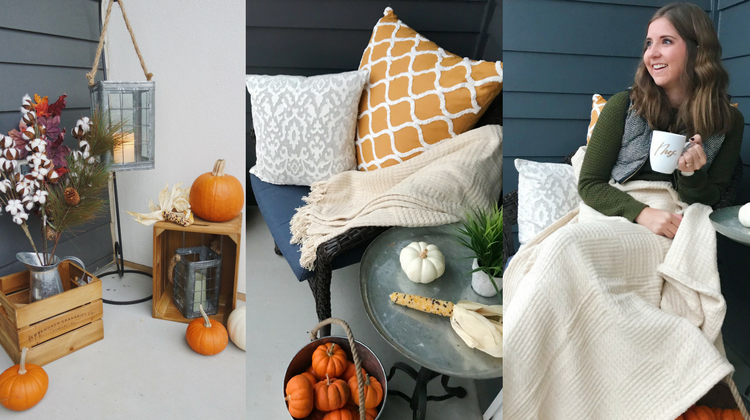 Fall Patio Revamp with Gordmans