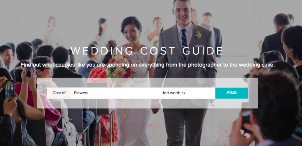 Wedding Wire Wedding Cost Guide Thrifty Pineapple