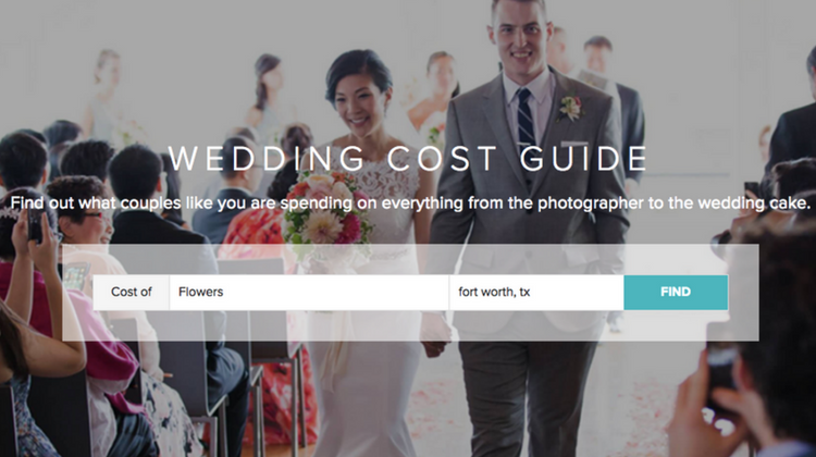 Wedding Wire Wedding Cost Guide