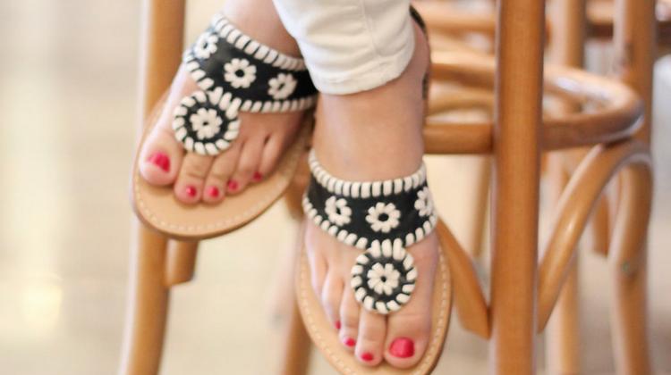 Palm Beach Sandal Giveaway