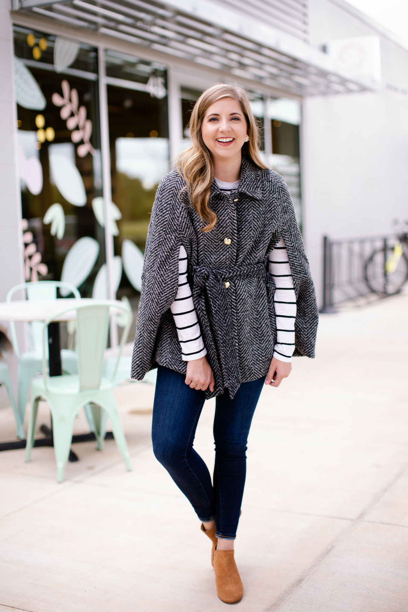 How To Style a Winter Cape Coat