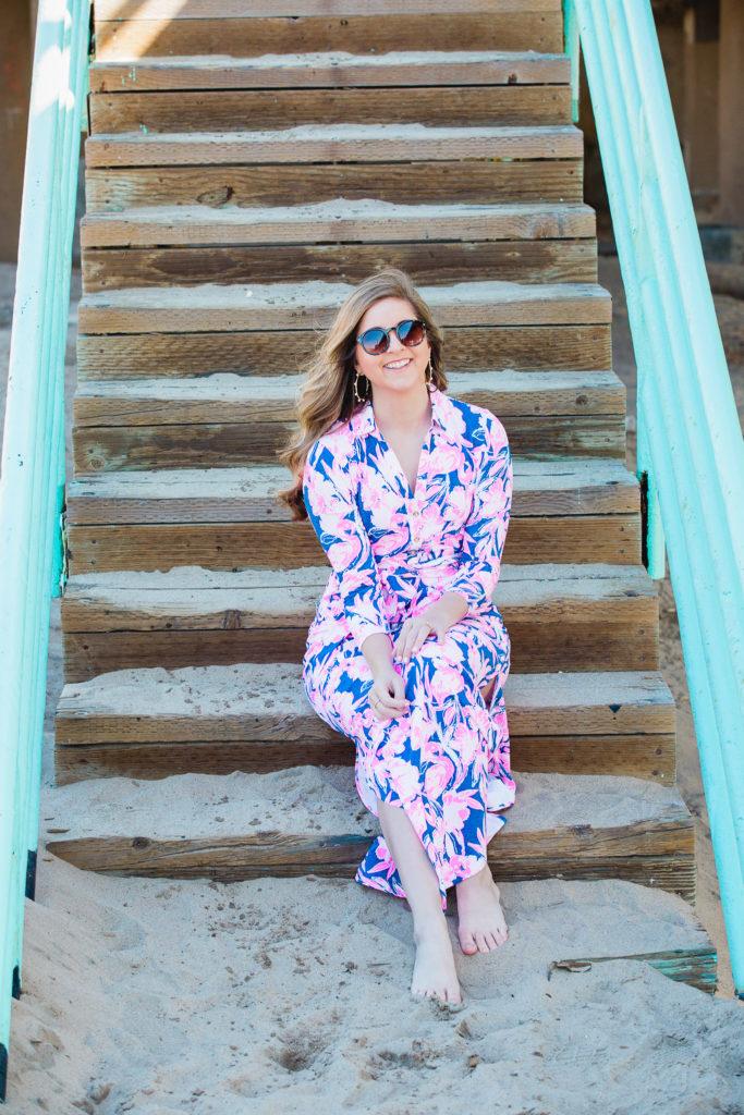 977c95ebf3f Lilly Pulitzer Holloway Maxi Dress - Thrifty Pineapple