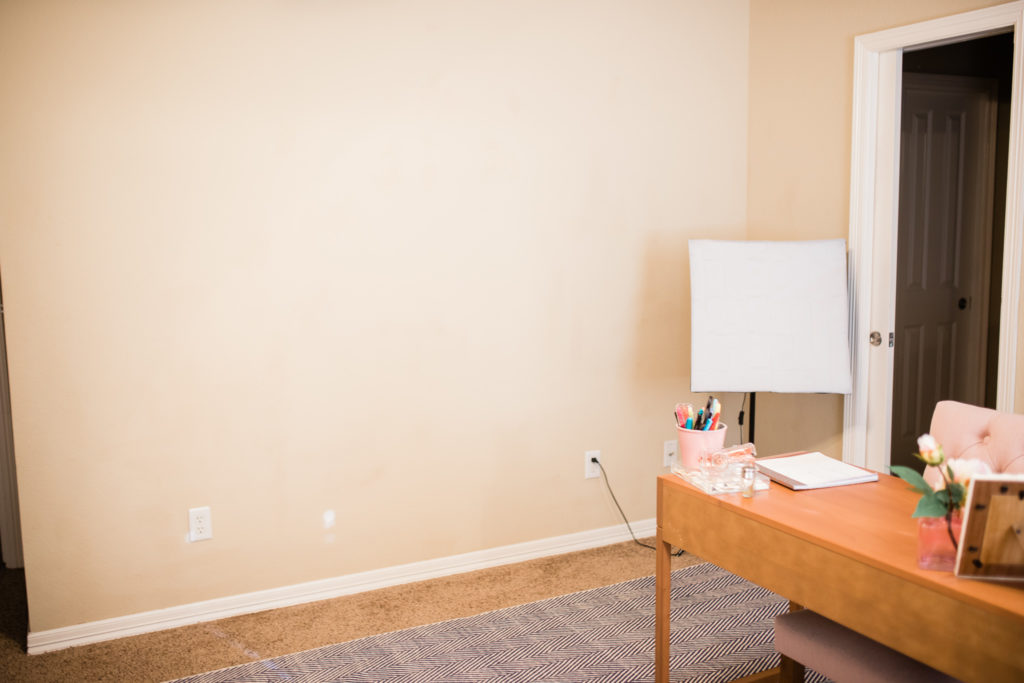 How To Apply Peel And Stick Wallpaper Office Transformation