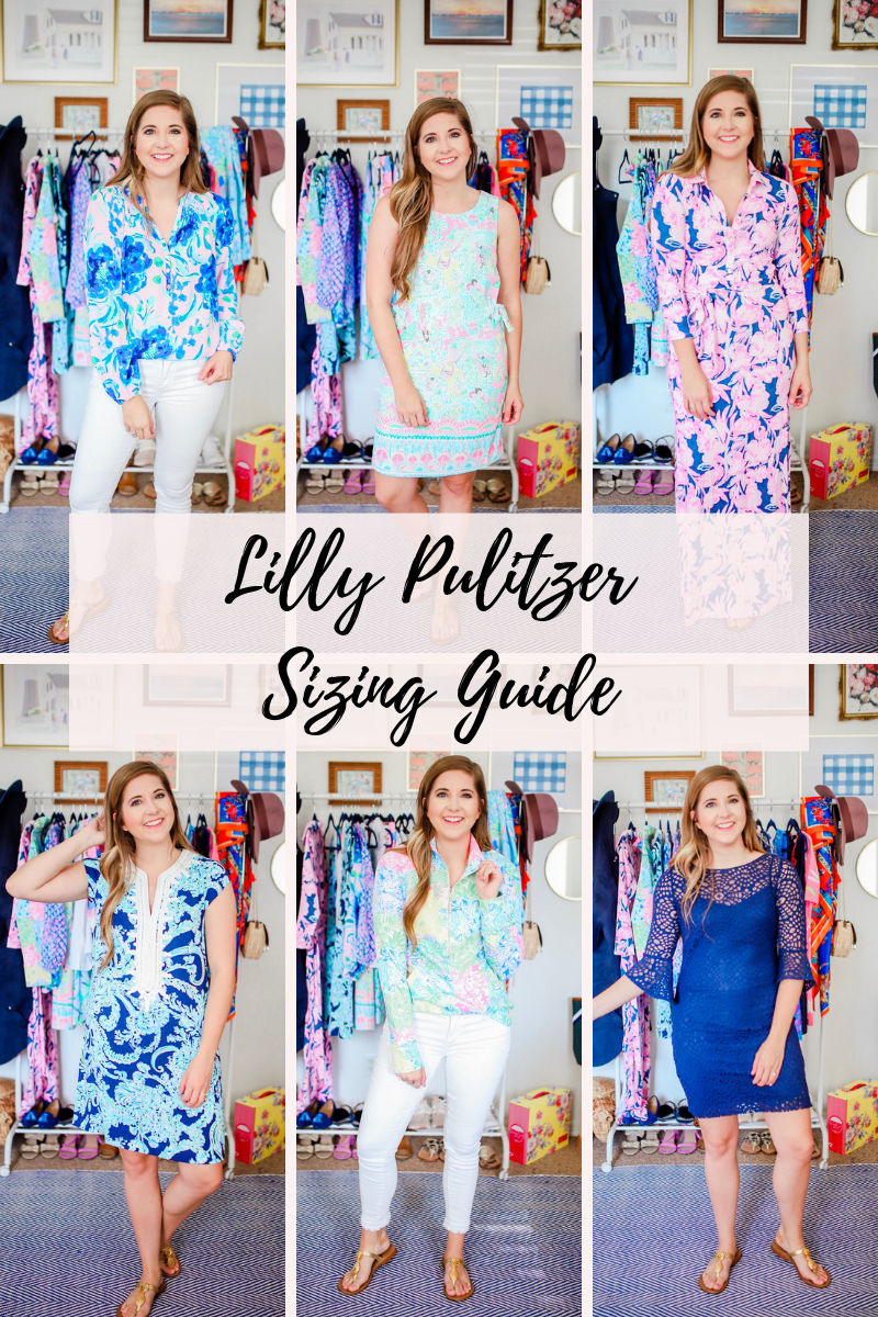 Lilly Pulitzer Sizing Guide For The September 2019 After Party Sale