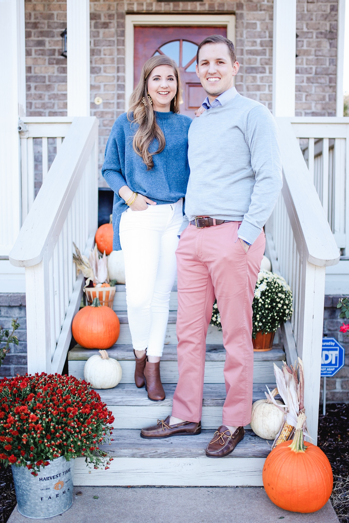 Fall Outfits for Couples Photos