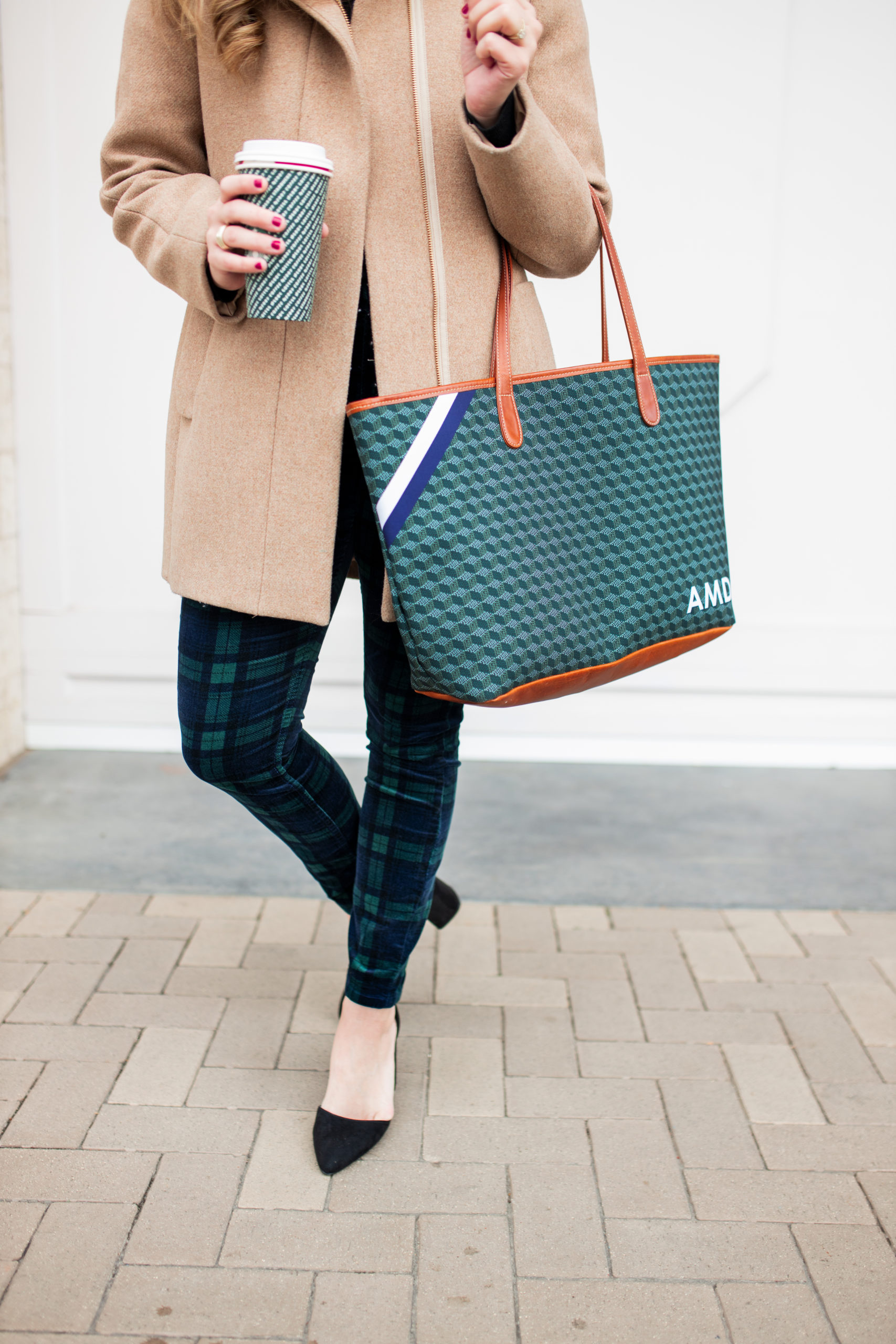 Black Watch Plaid Outfit