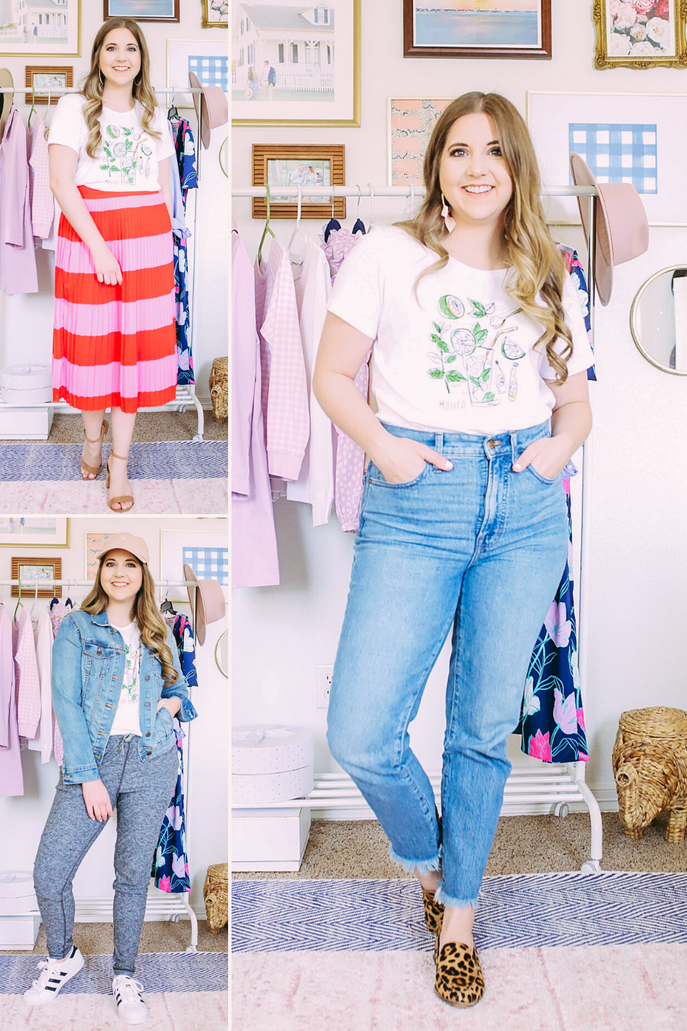 5 Ways To Style A Graphic T-Shirt