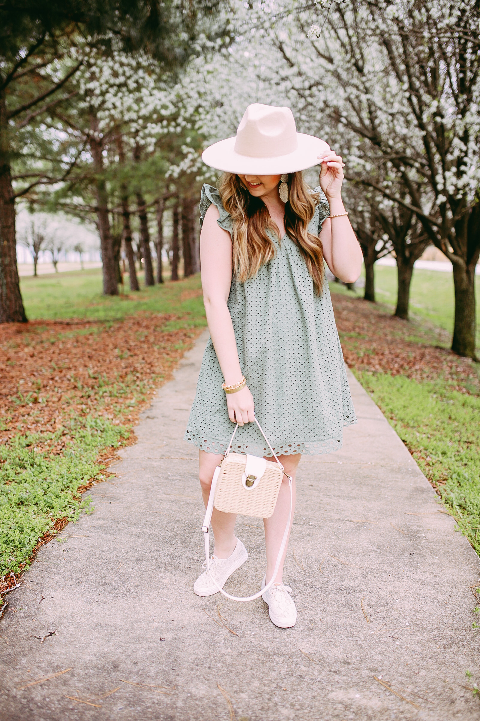 How To Dress Down A Spring Dress