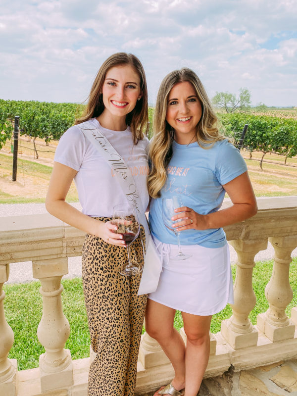 How We Did A Bachelorette Party in Fredericksburg, TX during COVID