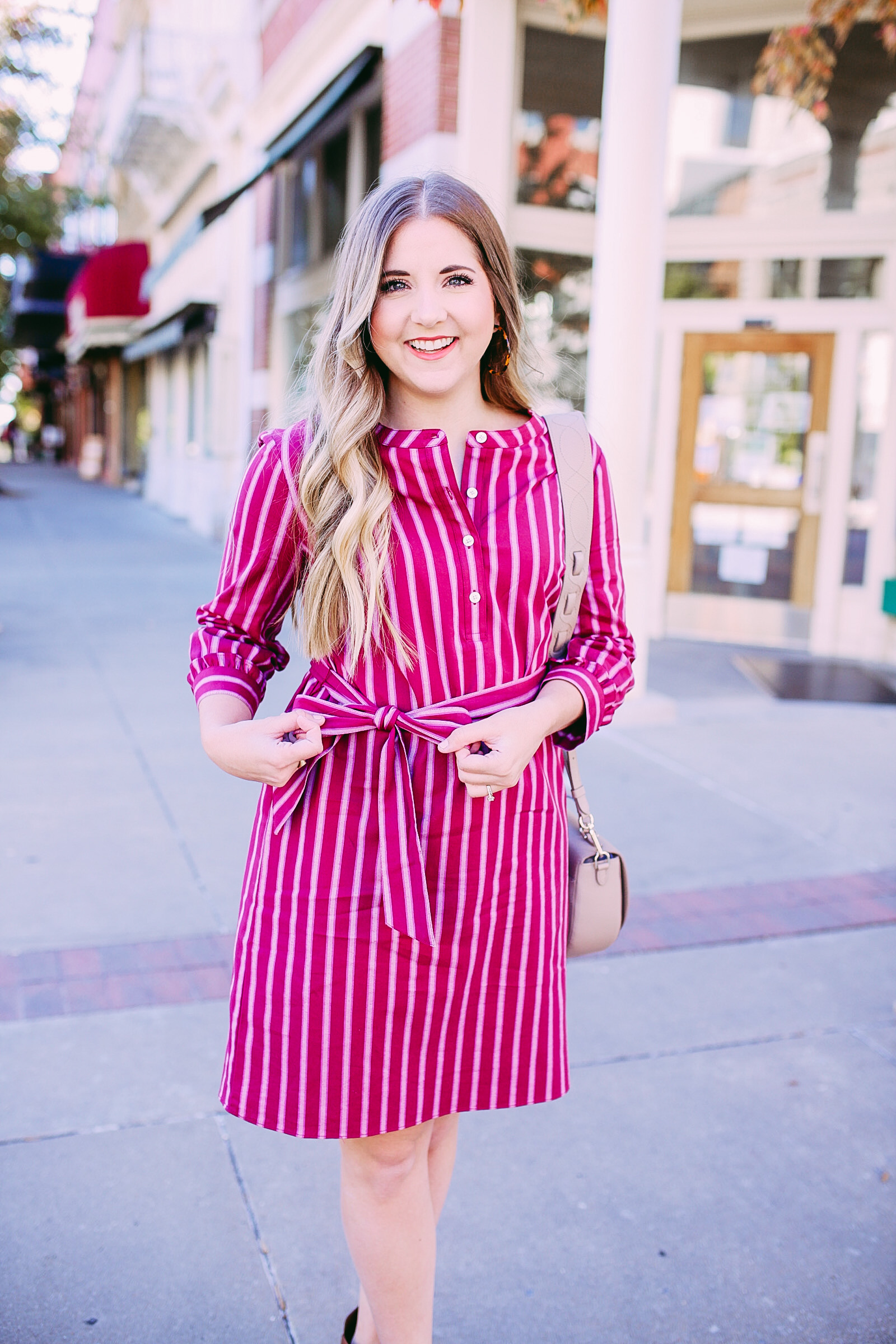 The Perfect Fall Draper James Dress