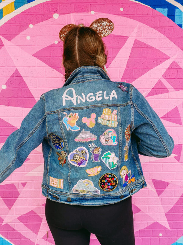 DIY Disney Patch Denim Jacket